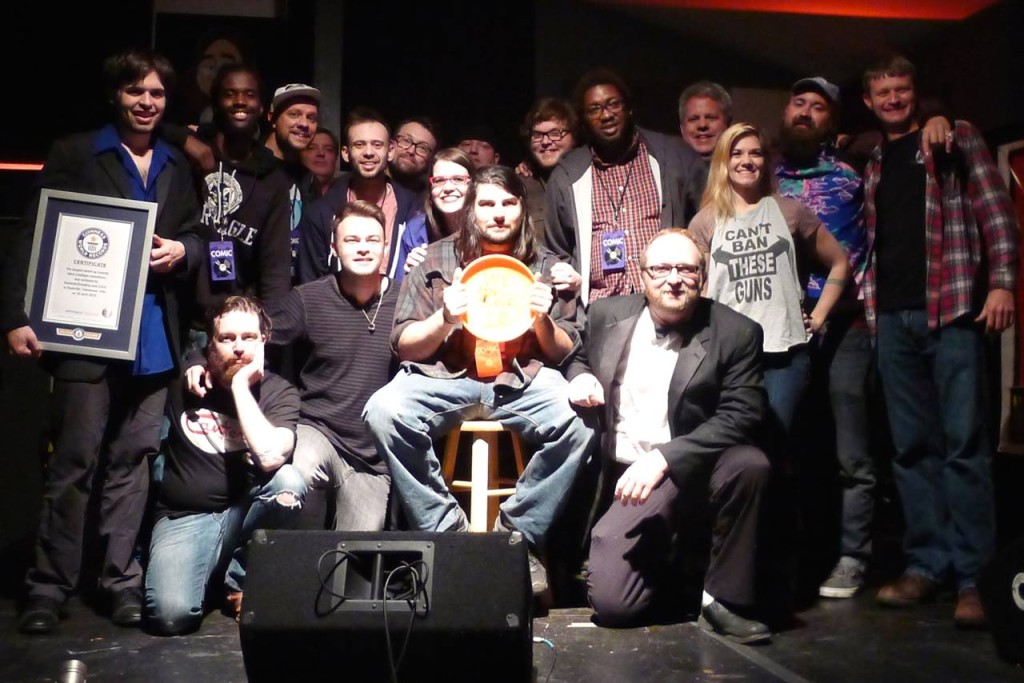 End of the show group photo, April 20, 2015